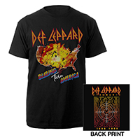 Blazing Thru America Tour 1983 Tee