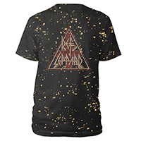 Union Jack Triangle Splatter Tee