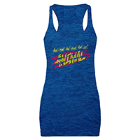 Animal Ladies Racerback Tank