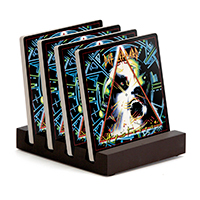 Hysteria Ceramic Coaster Set