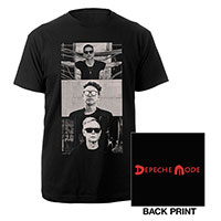 Triple Band Photo Black T-shirt
