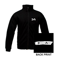 DM/Logo Black Track Jacket
