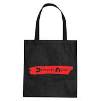 Logo/Where's The Revolution Black Shopper Bag