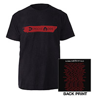 Logo/US Dates Black T-shirt