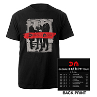Photo/US Dates Black T-shirt