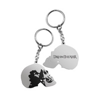 Distance Over Time Skull Keychain