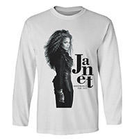 Janet Profile Photo Long Sleeve T-shirt
