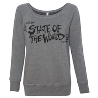 Women's State Of The World Tour 2017 Sweatshirt