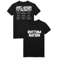 State Of The World 2018 Rhythm Nation Tee
