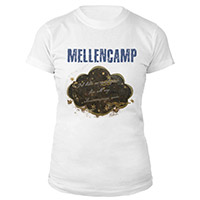 John Mellencamp Womens LogoTee