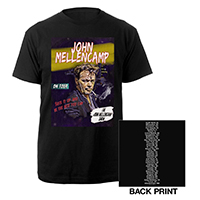 John Mellencamp Comic 2019 Tour Tee