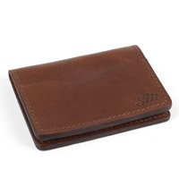Dark Oak Wallet