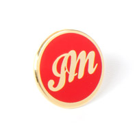 JM Red Lapel Pin