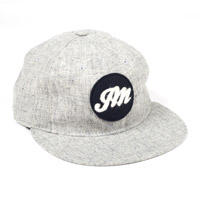JM logo Heather Grey Ballcap