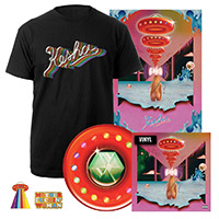 Vinyl (Explicit), Kesha Tee, Enamel Pin Set, Hand Signed Print, Slipmat Bundle
