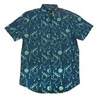 Blue Woven Shirt