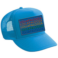 Turquoise Trucker Patch Hat