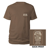 Whiskey Label Skynyrd Tee
