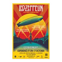 Led Zeppelin Celebration Day Film Poster