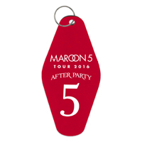 Maroon 5 2016 Tour Keychain