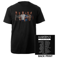 Maroon 5 North American Tour Tee