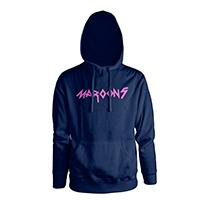Maroon 5 Logo Pullover Hooded Sweatshirt
