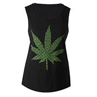 Smokin' Leaf Muscle Tank