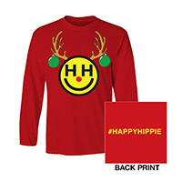 Happy Hippie Holiday Tee