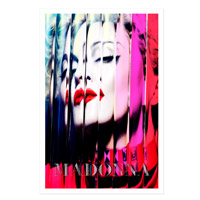Official MDNA Album Cover Lithograph.