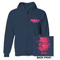 Dancing Madonna Rebel Heart Zip Hoodie