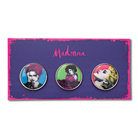 Madonna Pop Art Pin Set