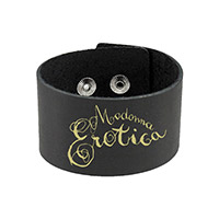 Madonna Erotica Leather wristband