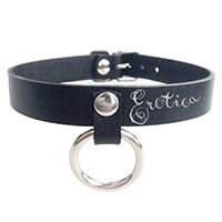 Erotica O-Ring Choker Necklace