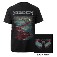 Megadeth Blood In The Water Tee