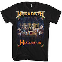 Megadeth Headcrusher Tee