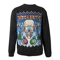 Ugly Megadeth Christmas Crewneck Sweatshirt