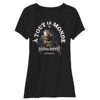 Megadeth A Tout Le Monde Women's Tee