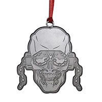 Vic Rattlehead Pewter Ornament