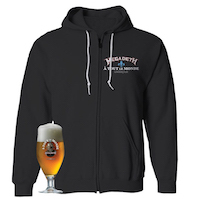Megadeth A Tout Le Monde Hoodie + Pint Glass Bundle