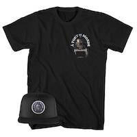 Megadeth A Tout Le Monde Tee + Hat Bundle