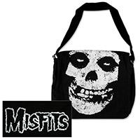 Misfits Skull & Logo Messenger Bag