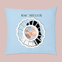 MAC MILLER MIRROR IMAGE PILLOW