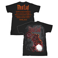 Bat of of Hell Itinerary Tee