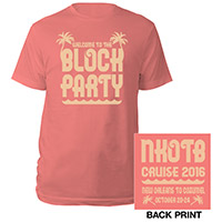 NKOTB Block Party Cruise Tee