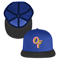 OF LOGO SNAPBACK HAT - ROYAL