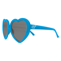 OF BLUE HEART SUNGLASSES
