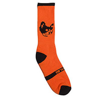 OFWGKTA CAT SOCK ORANGE