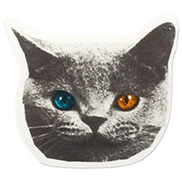 TRON CAT STICKER