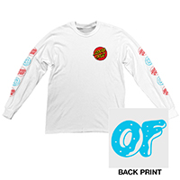 SANTA CRUZ/OF LS LADIES TEE