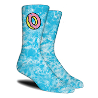 JUNIORS TUQUOISE DONUT O SOCKS